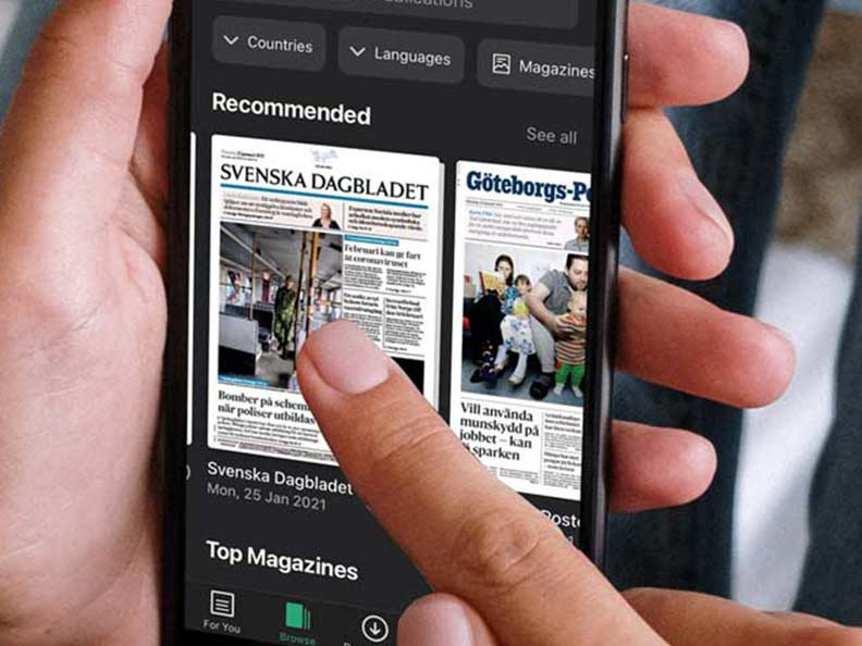 Digitala tidningar med Pressreader